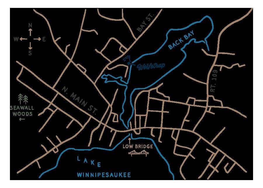 Wolfetrap Map